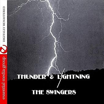 Swingers - Thunder & Lightning (Johnny Kitchen Presents the S [CD] USA import