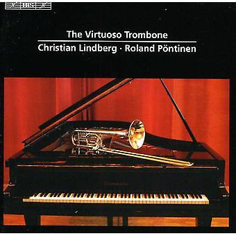 Christian Lindberg - The Virtuoso Trombone [CD] USA import