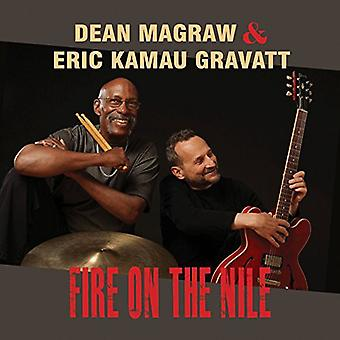 Dean Magraw & Eric Kamau Gravatt - Fire on the Nile [CD] USA import