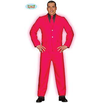 Pak zakenman gentleman Mister roze kostuum