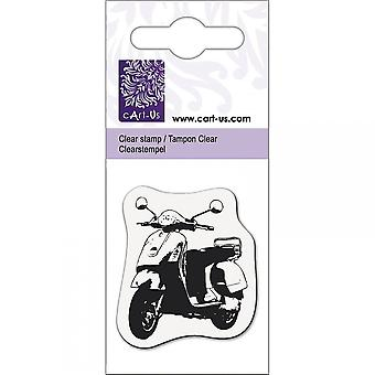 Knorr Prandall Scooter Mini Clear Stamp*^^