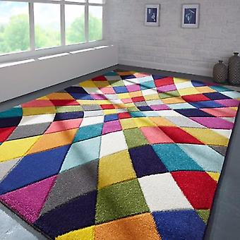 Spectrum Flair RHUMBA MULTI We also have a 20mm Thick Wool version of this rug available  Circle Rugs Funky Rugs