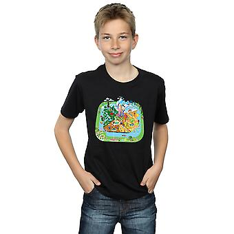 Disney мальчиков Zootropolis City футболка