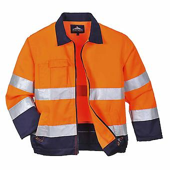 Portwest - Texo Madrid Workwear Uniform Abrasion Resist Hi-Vis Safety Jacket