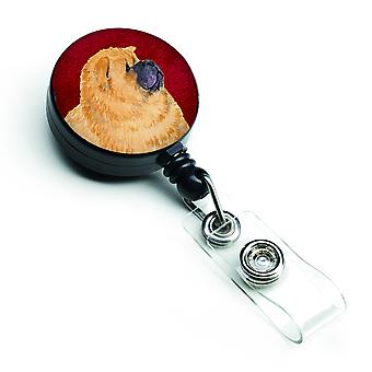 Carolines Treasures  SS6001BR Chow Chow Retractable Badge Reel or ID Holder with