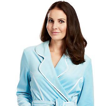 Feraud 3883035-10011 Laguna blu cotone Robe Loungewear vasca Vestaglia donna