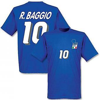 Roberto Baggio Taliansko 1994 Home T-shirt (modrá)