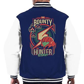 Samus le chasseur de primes retourne Varsity Jacket masculine
