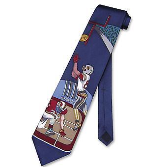 Papillon 100% SILK NeckTie Football Design Men's Neck Tie #124-4