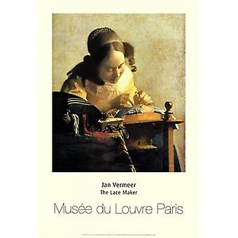 Lacemaker juliste Juliste Tulosta Johannes Vermeerin