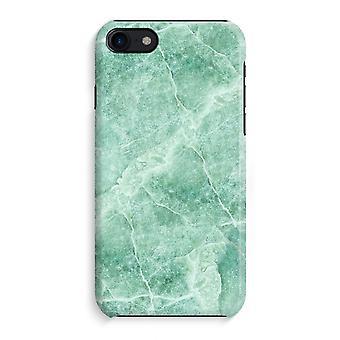 iPhone 8 pełny głowiczki (błyszcząca) - zielony marmur