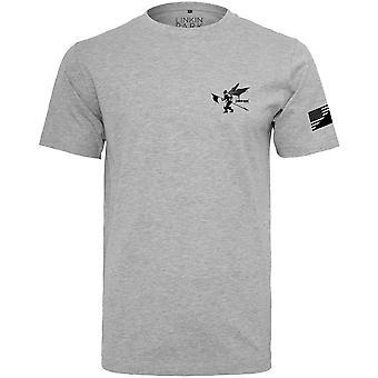 Merchcode shirt - Linkin Park Flag grey