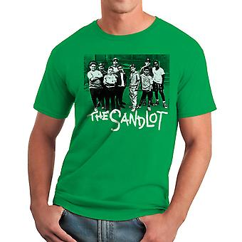 Sandlot Team Men's Kelly Green T-shirt