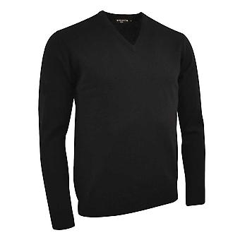 Glenmuir Mens Set In Sleeve V Neck Sweater