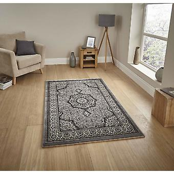 Heritage 4400 Grey  Rectangle Rugs Traditional Rugs