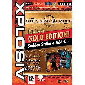 Sudden Strike Gold Edition - Xplosiv Range (PC) - Uusi
