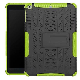 Hybrid outdoor protective cover Case Grün for NEW Apple iPad 9.7 2017 bag