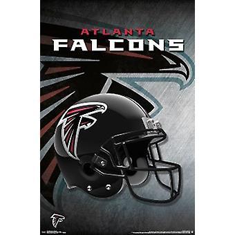 Atlanta Falcons plakatutskrift