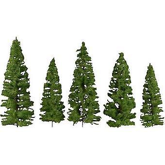 NOCH 0024501 Árvore conjunto Spruce 70 até 140 mm Médio verde 7 pc (s)