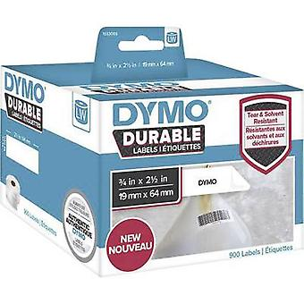 DYMO 1933085 Label roll 64 x 19 mm PE film White 900 pc(s) Permanent All-purpose labels, Address labels