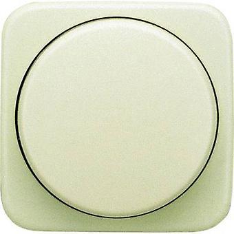 Busch-Jaeger dække lysdæmper Duro 2000 SI, Duro 2000 SI lineær creme-hvide 2115-212