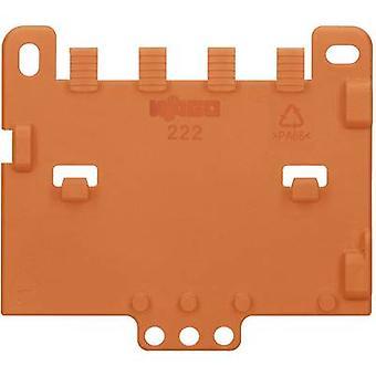 Trækaflastning plade WAGO 222-505 Orange 1 computer(e)