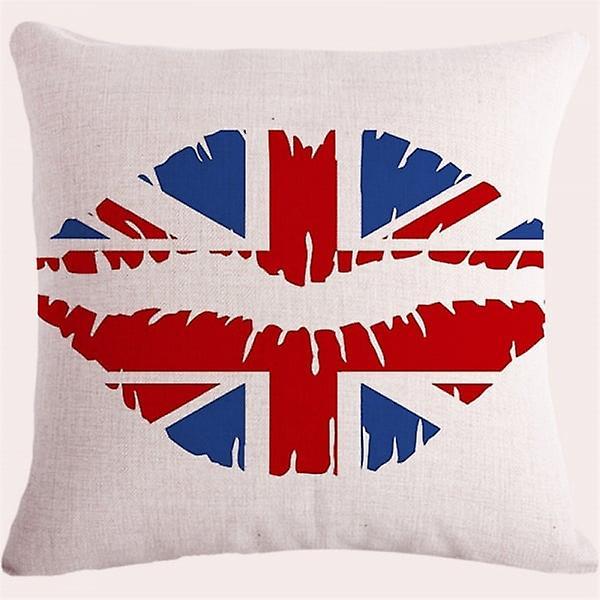 Union Jack Wear Union Jack Lips Cushion Covers