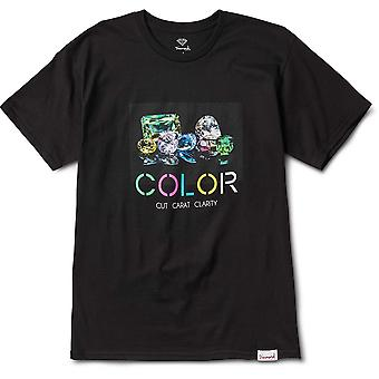 Diamond Supply Co Color T-shirt Black