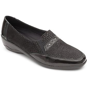 Padders opale Womens Stud détail Slip-on chaussure