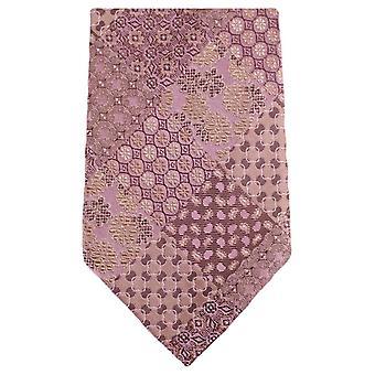 נייטסברידג ללבוש מולטי דפוס פרחוני עניבה-סלמון ורוד