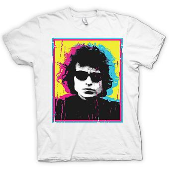 Womens T-shirt - Psychedelic Bob Dylan - Swinging 60s