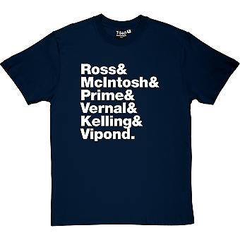 Camiseta Deacon Blue Line hombres