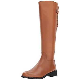 Franco Sarto Womens Brindley Leather Closed Toe Knee High Fashion Boots