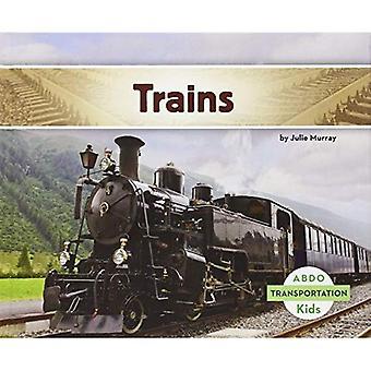 Trains (Abdo Kids: Transportation)