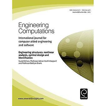 Konstbyggnader icke-kliniska analys Optimal Design och identifiering