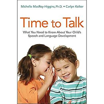 Time to Talk: What You Need to Know About Your Child's Speech and Language� Development (Agency/Distributed)