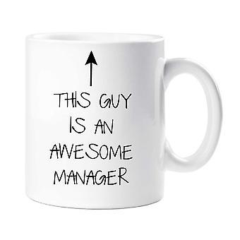 Ten facet jest niesamowite Kubek Manager