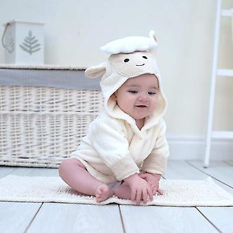 春子羊の赤ちゃんバスローブ