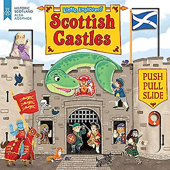 Little Explorers: Scottish Castles (Push, Pull and Slide) [Board book]
