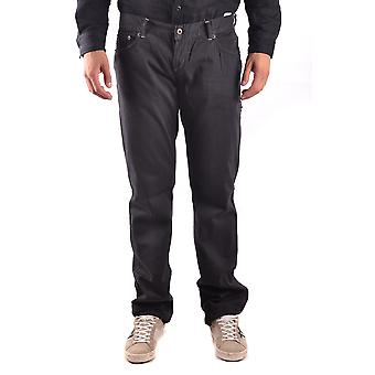 John Richmond Ezbc082053 Men's Black Cotton Jeans