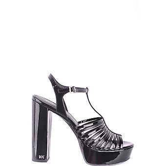 Michael Kors Ezbc063080 Sandales en cuir noir