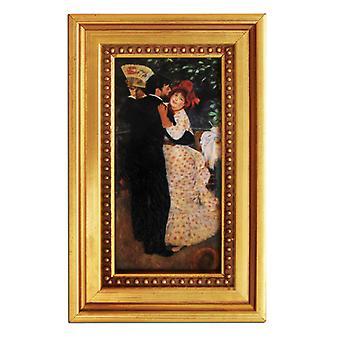 Pierre Renoir, Dance in the country, 14x7 cm