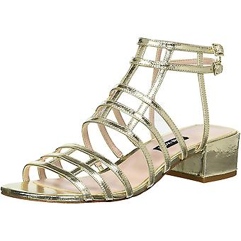 Nine West Womens Xerxes Leather Open Toe Casual Gladiator Sandals
