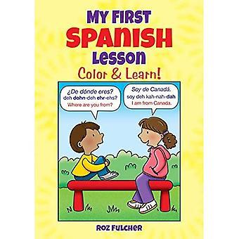 Moja pierwsza lekcja hiszpańskiego: Color & Dowiedz się więcej!
