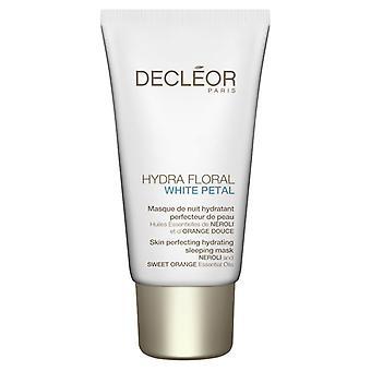 Décleor Hydra Floral White Petal Perfecting hydratant Masque de sommeil 50ml
