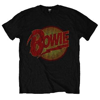 Mannen David Bowie Diamond Dogs Vintage T-shirt