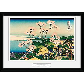 Hokusai Goten yama Hill Collector impression 50x70cm
