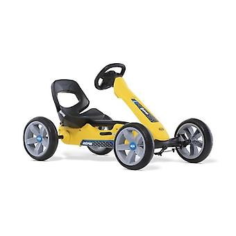 BERG Reppy Rider Pedal Junior Go Kart Yellow