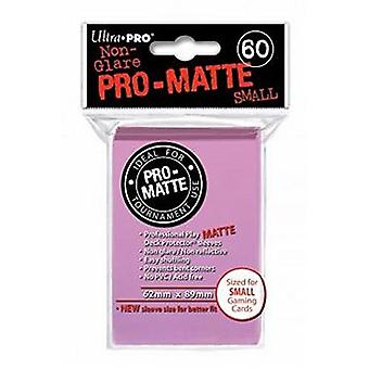 Ultra Pro Matte Small Card Sleeves - Pink