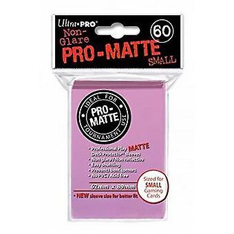 Ultra Pro Matte pieni kortti hihat-vaaleanpunainen